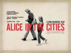 alice in cities movie poster design