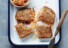 Kimchi Grilled Cheese
