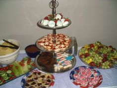 Assorted sweets for a party