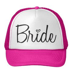 Cover your head with a customizable Bachelorette Party hat from Zazzle! Shop from baseball caps to trucker hats to add an extra touch to your look! Save The Pandas, How To Clean Hats, Funny Hats, Fishing Girls, Fly Fishing, White Caps, Custom Hats, Pink Candy, Engagement Gifts