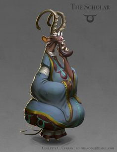 ArtStation - Collette Curran's submission on Ancient Civilizations: Lost & Found - Character Design