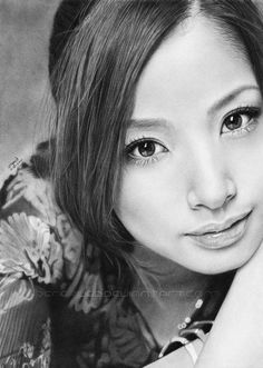 Incredible realistic portrait pencil drawings by Bereaved