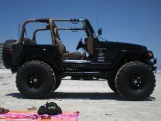 Jeep Wrangler Sahara lifted