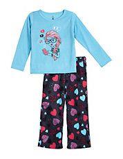 Two-Piece Heart Pyjama Set