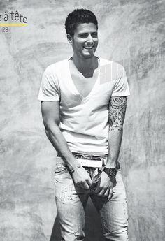 Quiero un tatuaje como el de Olivier Giroud. En serio.