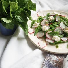 Snap Pea and Radish Salad - best recipe for the middle of summer