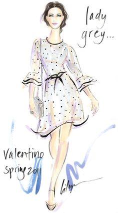 Valentino illustration
