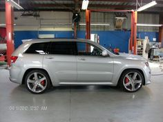 "First 2012 SRT8 Jeep Lowered 2""FRONT 3""REAR - Cherokee SRT8 Forum"