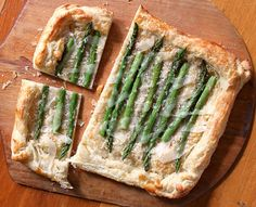 Asparagus and cheese tart by Care's Kitchen, via Flickr