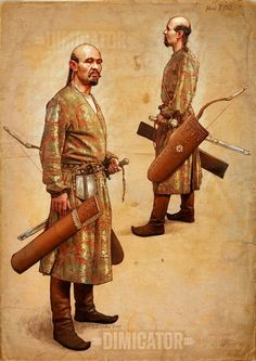 10th cen Hungarian warrior