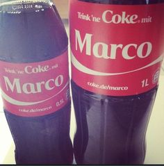 #marco #cocacola #drink