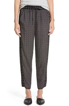 Madewell Grid Print Track Pants available at #Nordstrom