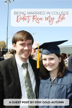 When I got married as a college student people told me my dreams would come to a halt.  To tell you the truth, though, exactly the opposite happened...  Marriage helped me accomplish my dreams AND MORE!