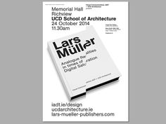 Lars Müller IADT/UCDArch - The 100 Archive