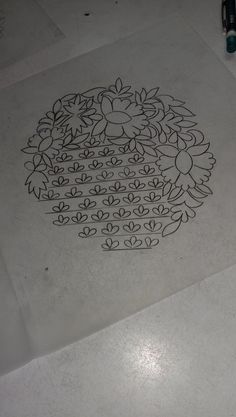 Indian Embroidery Designs, Hand Embroidery Art, Blackwork Embroidery, Embroidery Motifs, Embroidery Suits, Saree Painting, Fabric Painting, Zardosi Embroidery, Jewelry Design Drawing
