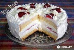 Epres fehér csoki torta