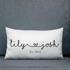 Gift for couples Romantic pillows Couple gift Couple pillow Couple bedroom pillow Personalized couple decor Custom couple pillow # Cadeau Couple, Cricut, Personalized Pillows, Personalized Gifts, Printed Cushions, Scatter Cushions, Throw Pillows, Decorative Pillows, Custom Pillows
