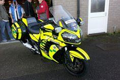 Congrats to Devon Blood Bikes - Kawasaki GTR1400