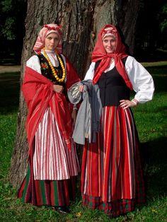 Lithuanian traditional costumes #lithuania #beauty   My Lithuania ...
