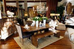 ...gorgeous vignette after gorgeous vignette. @Beth Giordano Furniture in Marlton, NJ.
