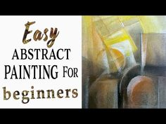 Easy abstract painting for beginners with dry pastels Art Classes Islamabad By Sajida Hussain - YouTube