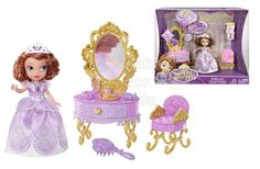 Disney Sofia the First and Royal Vanity | Code: 01622 | To order: http://www.shopaholic.com.ph/#!/Disney-Sofia-the-First-and-Royal-Vanity/p/48229891 | Girls can help Princess Sofia get ready for the royal ball with this vanity playset, which features an elegant design, regal accessories, and a beautiful Sofia doll in her signature fashion!