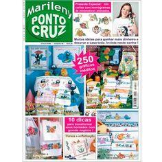 Marileny Ponto Cruz 06; cross stitch magazine, punto croce, punto de cruz, needlework, embroidery. Visit www.marileny.net