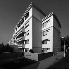 Residential Houses for Diplomats Jančova st., Peter Jančo, Eva Jančová and Rudolf Masný, 1995 Bratislava, Modern Architecture, Multi Story Building, Houses, Homes, Modernism, House, Home, Computer Case