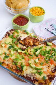 Tacogratäng med pasta - ZEINAS KITCHEN Quorn, Something Sweet, Chutney, Vegetable Pizza, Hummus, Pesto, Quiche, Tacos, Cooking Recipes