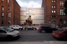 Steven Holl Architects Pratt Institute - Higgins Hall Insertion