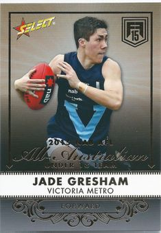 $1 AUD - 2015 Future Force All Australian (Aa18) Jade Gresham St. Kilda #ebay #Lifestyle St Kilda, E Bay, My Boys, Aud, Baseball Cards, Future, Lifestyle, My Children, Future Tense