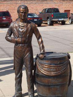 James K. Polk Statue, Presidents Tour, Rapid City, South Dakota - 11th President of the United States of America