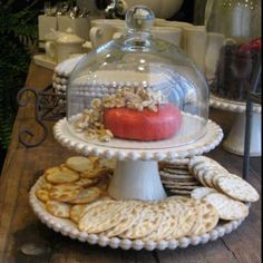Willow House, Southern Living Homes, Serving Platters, Favorite Recipes, Pedestal, Store, Home Decor, Beautiful, Serving Plates