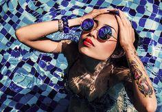 From Rubbzz fashion campaign shot by Klara Landrat Photography.