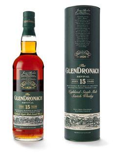 GlenDronach 15YO Revival - Okay, let's be honest. I'd love a bottle of any of GlenDronach's core range...
