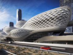 The Riyadh Metro, Saudi Arabia's new $23.5 billion rail line will boast a station designed by Zaha Hadid. Its 109 miles of railway will revolutionize how residents of Riyadh get around. It's set to begin operation by 2019.