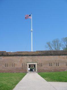 Fort Polaski Tybee Island, Ga.