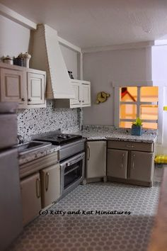500 Best Dollhouse Kitchen Diy Images Miniature Kitchen