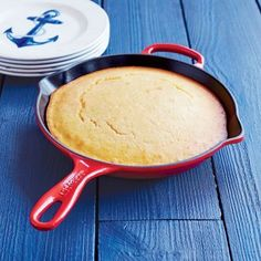 cooking 101: a cast iron skillet can go on the stove and in the oven, great for cornbread and uttapams | must have kitchen gadgets | Le Creuset Signature Cast-Iron Skillet, 10.25"
