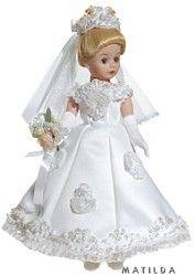 Madame Alexander Dolls - Contemporary Bride Blonde - by Matilda Dolls
