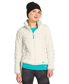 Under Armour Womens UA ColdGear Infrared Nightfall Jacket Small Ivory -- Find out more about the great product at the image link.