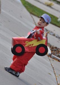 Last year J was set on being a race car driver for Halloween. Give me a quick and easy store-bought costume anyday. So I happened on a great race car driver costume at the Disney Store (the link …