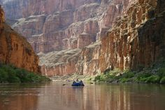 Raft through the Grand Canyon.