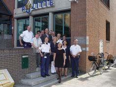 Gemeenteraad op werkbezoek bij de politie 2012