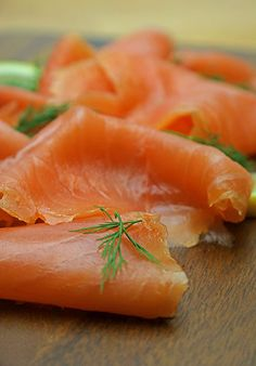 J Lawrie & Sons (Jaffy's) Oak Smoked Salmon –– The thickness of the slices is just right, thin enough to fall into folds on the plate but thick enough to enjoy the supple meaty texture that just melts in the mouth. #ArtisanFoodTrailApproved