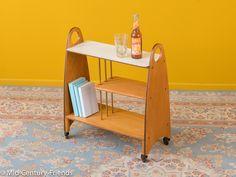 Vintage Tische - Seltener, 50er Servierwagen, 60er, Beistelltisch - ein Designerstück von Mid-Century-Friends bei DaWanda