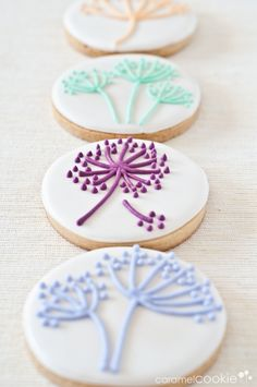 tree of life cookies Cookies Cupcake, Galletas Cookies, Fancy Cookies, Cookie Frosting, Flower Cookies, Iced Cookies, Cute Cookies, Easter Cookies, Royal Icing Cookies