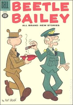 Beetle Bailey, Issue by Mes Boîtes Dessinées - issuu Best Comic Books, Vintage Comic Books, Vintage Cartoon, Vintage Comics, Comic Books Art, Comic Art, Classic Comics, Classic Cartoons, Cool Cartoons