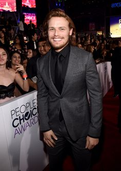 Sam with his boyish charm and smile