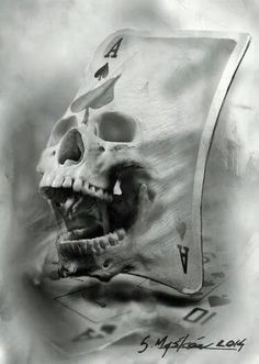 maybe this skull coming out of a sail on a boat thats catching the wind
